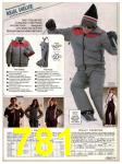 1982 Sears Fall Winter Catalog, Page 781