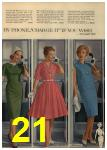 1961 Sears Spring Summer Catalog, Page 21