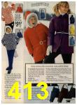 1972 Sears Fall Winter Catalog, Page 413