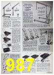 1967 Sears Spring Summer Catalog, Page 987