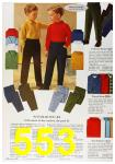 1964 Sears Fall Winter Catalog, Page 553