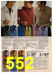 1972 Sears Fall Winter Catalog, Page 552