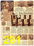 1940 Sears Fall Winter Catalog, Page 281