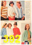 1960 Sears Fall Winter Catalog, Page 392