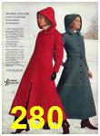 1971 Sears Fall Winter Catalog, Page 280