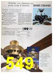 1989 Sears Home Annual Catalog, Page 549
