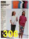 1991 Sears Spring Summer Catalog, Page 306