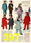 1956 Sears Fall Winter Catalog, Page 397
