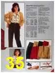 1986 Sears Fall Winter Catalog, Page 35