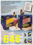 1987 Sears Fall Winter Catalog, Page 646