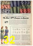 1942 Sears Spring Summer Catalog, Page 32