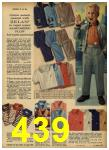 1962 Sears Spring Summer Catalog, Page 439