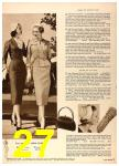 1958 Sears Spring Summer Catalog, Page 27