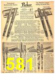 1940 Sears Fall Winter Catalog, Page 581