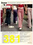 1974 Sears Spring Summer Catalog, Page 381