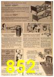 1963 Sears Fall Winter Catalog, Page 852
