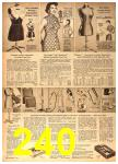 1958 Sears Spring Summer Catalog, Page 240
