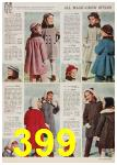 1958 Sears Fall Winter Catalog, Page 399
