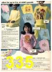 1976 Sears Fall Winter Catalog, Page 335