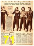 1940 Sears Fall Winter Catalog, Page 71