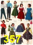 1956 Sears Fall Winter Catalog, Page 357