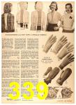 1956 Sears Fall Winter Catalog, Page 339