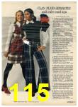 1972 Sears Fall Winter Catalog, Page 115