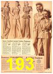 1942 Sears Spring Summer Catalog, Page 193