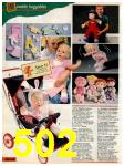 1985 Sears Christmas Book, Page 502
