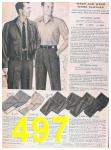 1957 Sears Spring Summer Catalog, Page 497