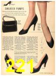 1956 Sears Fall Winter Catalog, Page 221