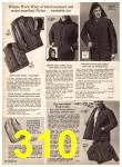 1969 Sears Fall Winter Catalog, Page 310