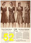 1942 Sears Spring Summer Catalog, Page 52