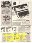 1974 Sears Fall Winter Catalog, Page 1257