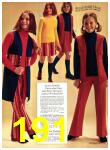 1971 Sears Fall Winter Catalog, Page 191