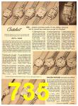 1949 Sears Spring Summer Catalog, Page 735