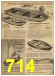 1962 Sears Spring Summer Catalog, Page 714