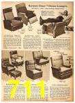 1958 Sears Fall Winter Catalog, Page 711