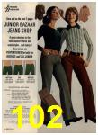 1972 Sears Fall Winter Catalog, Page 102