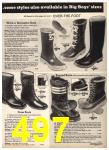 1975 Sears Fall Winter Catalog, Page 497