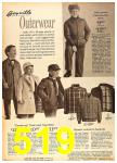 1962 Sears Fall Winter Catalog, Page 519