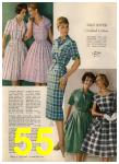 1960 Sears Spring Summer Catalog, Page 55