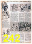 1957 Sears Spring Summer Catalog, Page 242