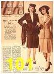 1942 Sears Spring Summer Catalog, Page 101