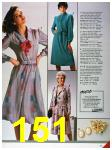 1986 Sears Fall Winter Catalog, Page 151