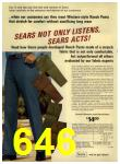 1972 Sears Fall Winter Catalog, Page 646