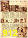 1940 Sears Fall Winter Catalog, Page 912