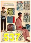 1962 Sears Fall Winter Catalog, Page 537