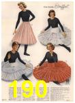 1960 Sears Spring Summer Catalog, Page 190