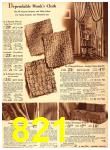 1940 Sears Fall Winter Catalog, Page 821